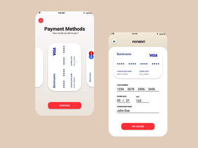 interface card payment ux app icon ui design user interface design user experience illustrator graphic experiment experience dailyuichallenge dailyui adobexd
