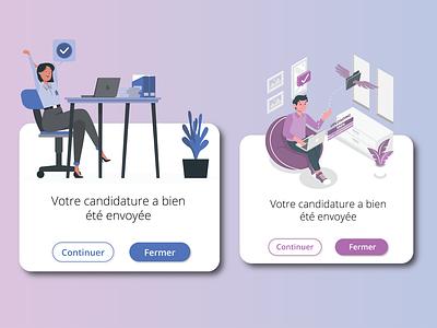 POP UP geometric web design blue purple popup design webdesign app dailyui illustrator ui dailyuichallenge adobexd