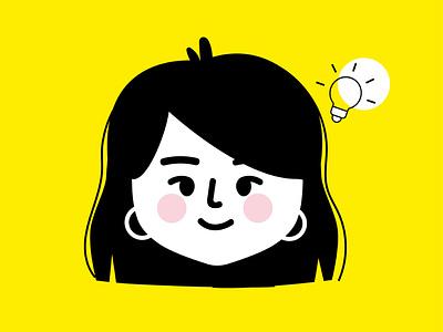 My personal illustration SAMART yellow company commercial social media cartoon cute illustrator visual identity branding graphic design vector illustration logo