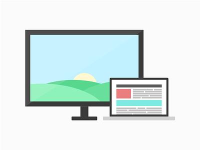 Flat Screen(s) site marketing website assets sprites linguistic