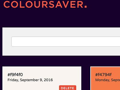 COLOURSAVER. palettes coloursaver cs colour color inspiration colours colors