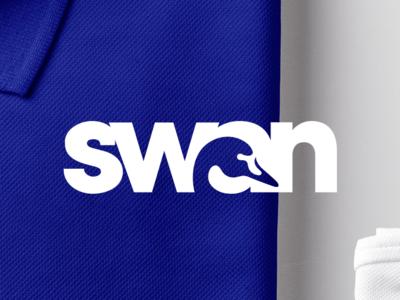 Swan Laundry brand identity