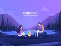 Mahameru Landing Page