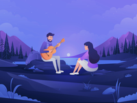 Applecouple Dating App animation