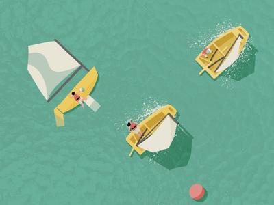 Optimist Sailing Race