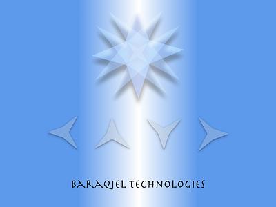 Logo Design (Baraqiel Technologies) graphic design astrology tech company branding logo vector illustration design