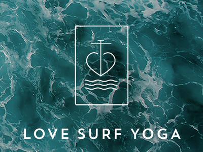Love Surf Yoga logo