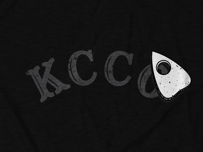 Keep Calm Chive On Ouija Design for theCHIVE typography digital illustration shirt design tee design apparel design thechive kcco ouija board ouija halloween