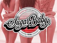 SeekingArrangement's Sugar Baby 2016 Calendar Cover Concept