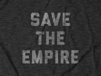 Save The Empire Tee Design for Buy Me Brunch