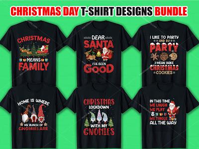 Christmas Day T Shirt Design Bundle t-shirt design custom t-shirts bulk t-shirts best custom t-shirts
