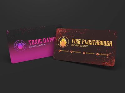 Twitch Banners webdesign game flat photoshop logo logodesign art graphic design website banner minimal web icon design