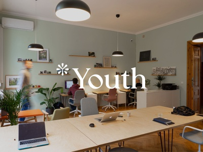 Youth Company Logo icon minimal logodesign design flat animation graphic design branding logo