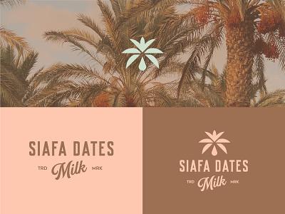 Siafa Dates minimalist visual brandingidentity graphic design icon minimal flat logodesign logo design branding