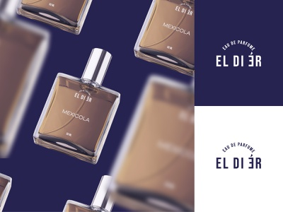 Eldier Parfume packaging productdesign parfume brandidentity brand visualidentity visual graphic design minimal logodesign logo icon flat branding design