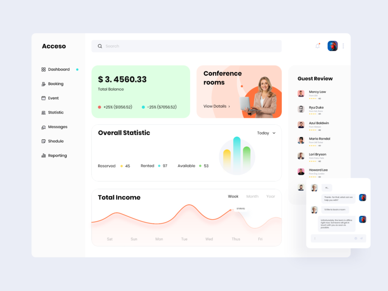 Acceso Web Application nazmul hassan uigeek page app product interface ux ui typography product design minimal dashboard app dashboad clean card ui booking app analytics