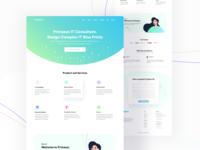 Primasys Landing Page