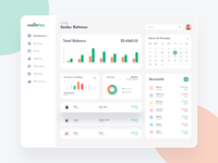 Financial Web Application Design White V1