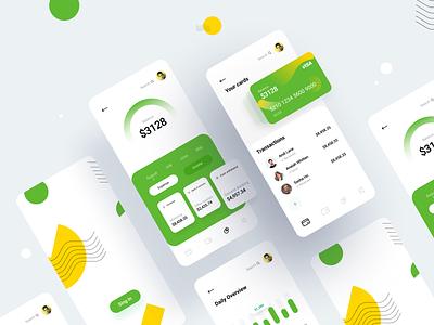 Wallet App financial app financial bankingapp designs product clean interface uigeek design web application web app web ux ui ios wallet app crypto wallet dahsboard app wallet
