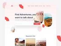 Travel Agency - Website Design nature traveling travel agency tourism travel tours booking storytelling social map website minimal design landing clean app interface web ux ui