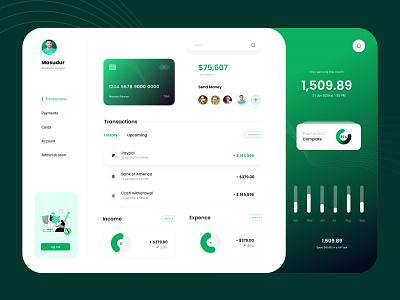 Financial Web app design app application dashboard app uidesign app wallet design web app banking finance app financial