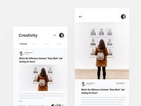 Blog Page Exploration