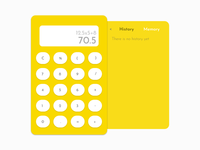 UI4 calculator