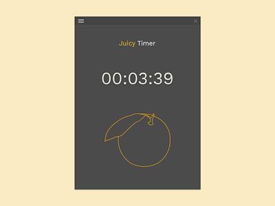 UI14 countdown timer 014 dailyui14 dailyuichallenge dailyui