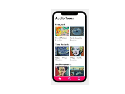 Gal Pal - Audio Tour Mobile App