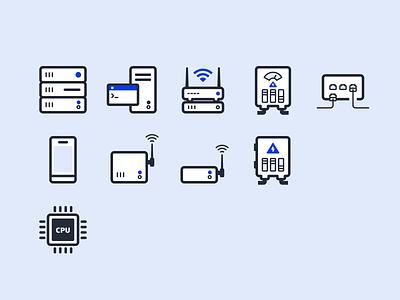 Network Hardware Icon network hardware icon ui