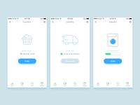 Laundry App Concept Design