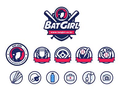 Batgirl Website Icon baseball icon