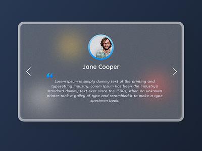 Daily UI 39 bestui best dribbble uxdesign design app testimonial uidesign ui dailyuichallenge dailyui