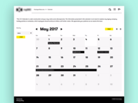 Corporate Calendar, Visual Design
