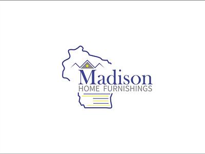 Madison Home Furnishings branding logo design brand design design logo creative design