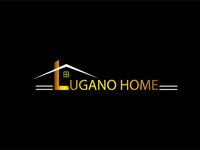 Lugano Home Logo creative logo design logodesign design branding logo design logo logo design creative design creative logo