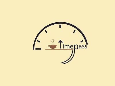 Timepass Logo creative logo design design logodesign branding logo design logo design logo creative design creative logo