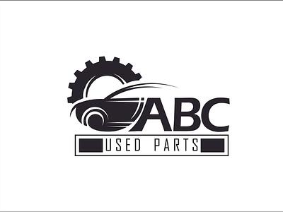 ABC Used Parts creative logo design logodesign logo branding logo design logo design creative design creative logo