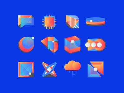 Some Icons minimal app logo free branding ui icon ux vector illustration