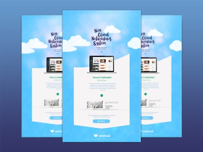 AniMail- The Email Template emails mailtemplate mail mailer maildesign emaildesign emailtemplate emailer email