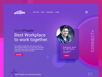 SocioPeople Landing Page