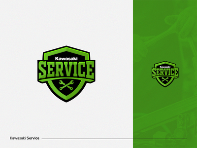 Kawasaki service monster motorbike motorcycle dhaka logo emblem standard service kawasaki