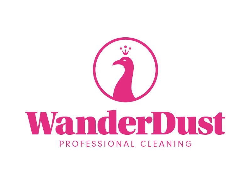 Wanderdust Logo - Unused concept branding logo