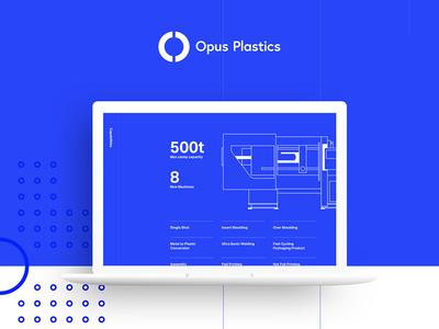 Opus Plastics UI Concept
