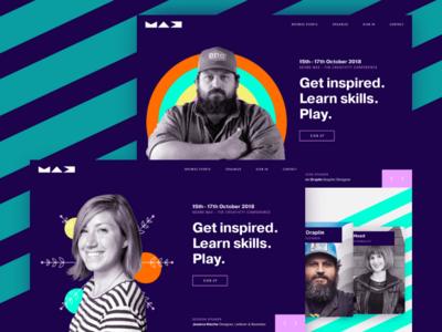 Adobe XD UI Challenge - Days 1 & 2