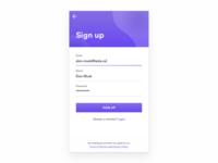 Hello Dribbble! — Daily UI Challenge #001