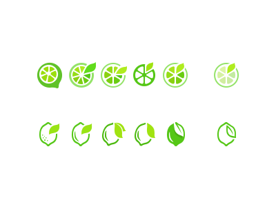 greenlemon logo evolution by cdy dribbble