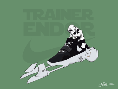 Sneaker fusion: Star Wars x Nike Trainer Endor