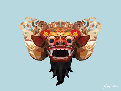 Low Poly Barong