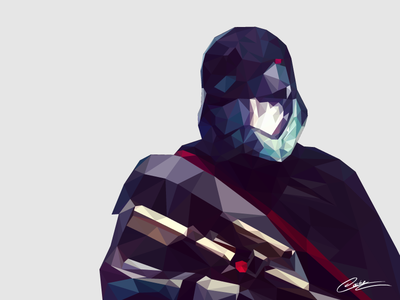 Low Poly Captain Phasma